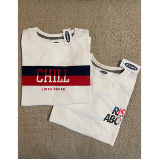 オールドネイビー(Old Navy)の【新品未使用】OLD NAVY BOYS Sサイズ 2枚セット(Tシャツ/カットソー)