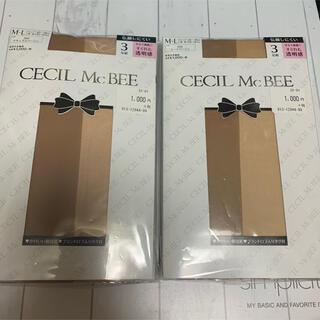 セシルマクビー(CECIL McBEE)のCECIL McBEE ストッキング M〜L 計6足セット(タイツ/ストッキング)