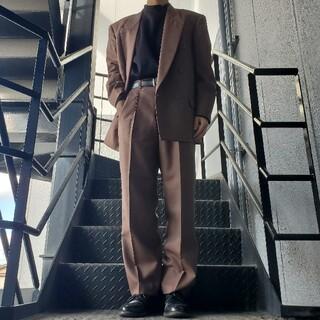ジョンローレンスサリバン(JOHN LAWRENCE SULLIVAN)のヴィンテージ セットアップ ダブルスーツ ブラウン(セットアップ)