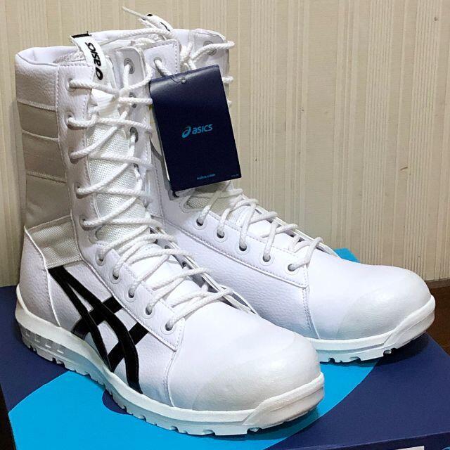 asics(アシックス)のアシックス 安全靴 ウインジョブ 26.5cm CP402 白/黒 メンズの靴/シューズ(その他)の商品写真