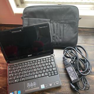 エイサー(Acer)の【年始SALE】値下げしました!美品!acerミニノートパソコン 3点セット(ノートPC)