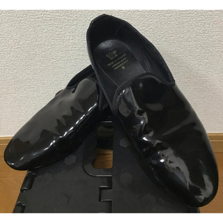 leather upper man made sole スリッポン(スリッポン/モカシン)