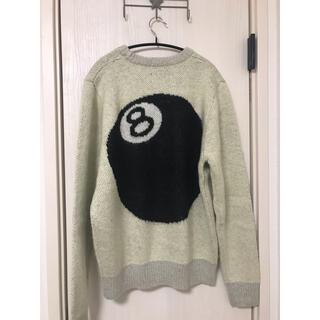 ステューシー(STUSSY)の【新品】Stussy 8ball Mohair Sweater 8ボール L(ニット/セーター)
