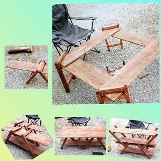 アウトドア キャンプ テーブル ラック 棚