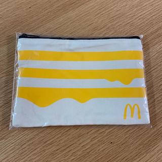 コールマン(Coleman)の新品未開封Coleman × マクドナルド  2021福袋ポーチ黄色(登山用品)