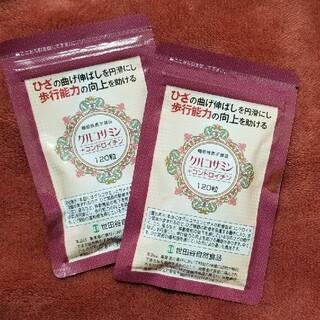 世田谷自然食品 グルコサミン+コンドロイチン2袋(その他)