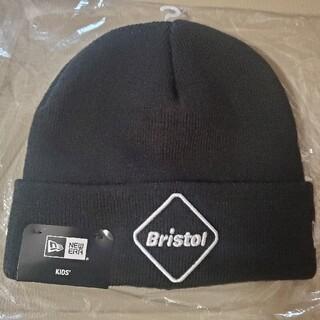 エフシーアールビー(F.C.R.B.)のFCRB Bristol ニット帽 黒(帽子)