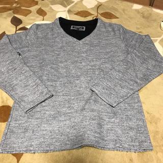 セマンティックデザイン(semantic design)のセマンティックデザイン  ロンT グレー S(Tシャツ/カットソー(七分/長袖))