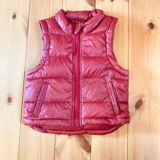 ムジルシリョウヒン(MUJI (無印良品))の無印良品 ダウンベスト 90サイズ(ジャケット/上着)