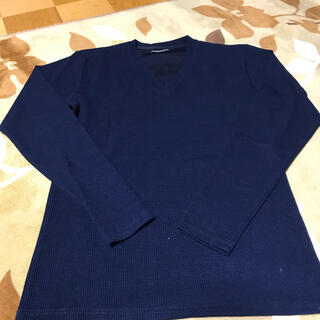 セマンティックデザイン(semantic design)のセマンティックデザイン  ロンT ネイビー S(Tシャツ/カットソー(七分/長袖))