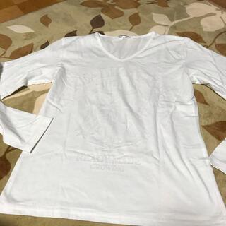 セマンティックデザイン(semantic design)のセマンティックデザイン ロンT  ホワイト S(Tシャツ/カットソー(七分/長袖))