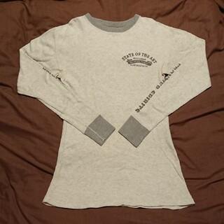 フラットヘッド(THE FLAT HEAD)のフラットヘッド FLAT HEADサーマル プリント ロング カットソー40(Tシャツ/カットソー(七分/長袖))