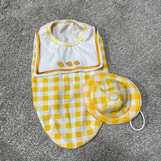 スヌーピー(SNOOPY)のペットパラダイス 犬服 幼稚園生 帽子セット Mサイズ(ペット服/アクセサリー)