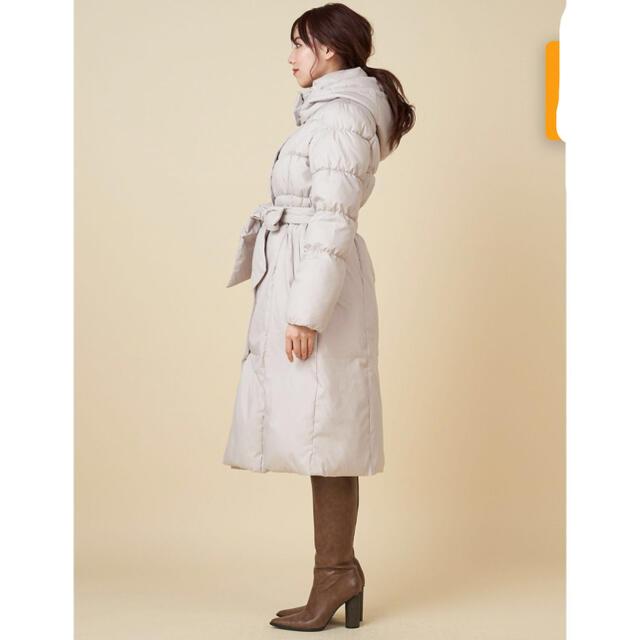 ROYAL PARTY(ロイヤルパーティー)の定価 11000円 中綿シャーリングコート レディースのジャケット/アウター(ダウンコート)の商品写真