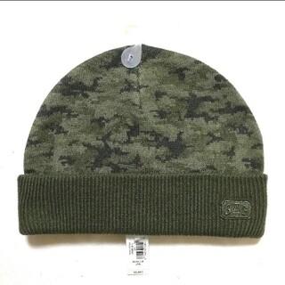 ギャップ(GAP)の☆新品未使用☆ GAP KIDS 迷彩柄 ニット帽 ニットキャップ(帽子)