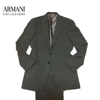 アルマーニ コレツィオーニ(ARMANI COLLEZIONI)のARMANI アルマーニ メンズ スーツ セットアップ 総裏 シングル 2釦(セットアップ)