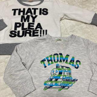 コドモビームス(こどもビームス)の⑥90 トーマス ビームスミニ トレーナー ニット プティマイン  セット(ニット)