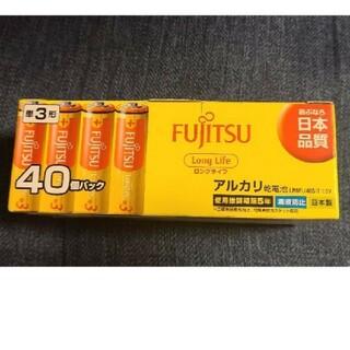 フジツウ(富士通)の富士通 FUJITSU LR6FL-40S 単3電池 40本/アルカリ(その他)
