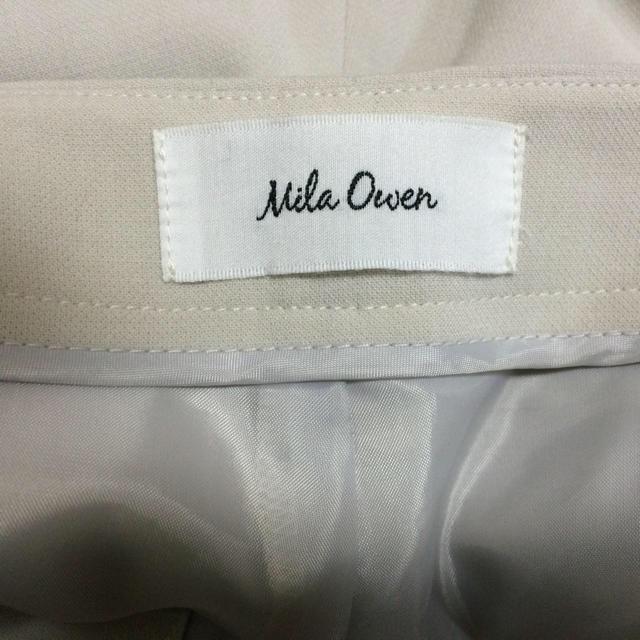 Mila Owen(ミラオーウェン)のMila Owen 白パンツ レディースのパンツ(カジュアルパンツ)の商品写真