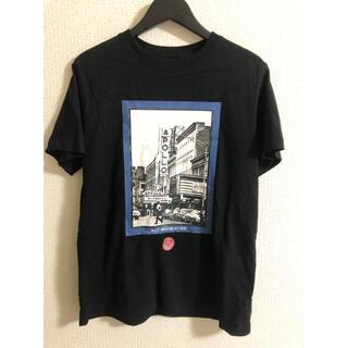 エクスパンション(EXPANSION)のエクスパンション Tシャツ ブラック 美品(Tシャツ/カットソー(半袖/袖なし))