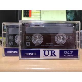 マクセル(maxell)のUR90カセットテープ(2巻)お急ぎ便(その他)