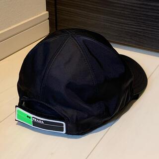 PRADA - PRADA BASEBALL CAP BLACK×GREEN 正規品