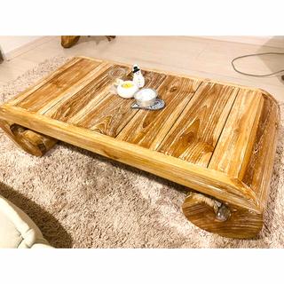 フランフラン(Francfranc)のアンティーク猫足ローテーブル(ローテーブル)