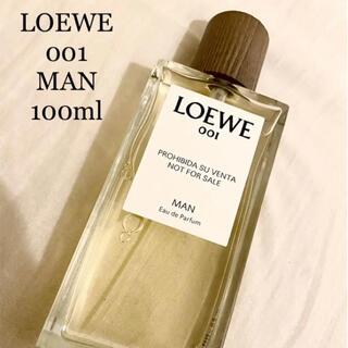 ロエベ(LOEWE)のLOEWE 001 man EDP 100ml 新品未使用(香水(男性用))