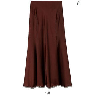 リリーブラウン(Lily Brown)のリリーブラウン サテンマーメードスカート(ロングスカート)