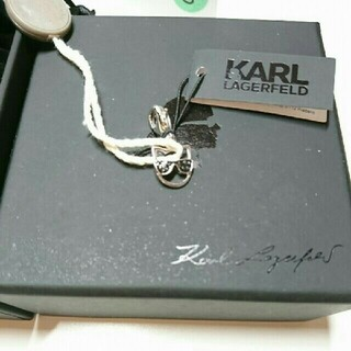 カールラガーフェルド(Karl Lagerfeld)の[新品未使用]シュペット サングラスチャーム(チャーム)