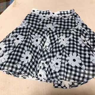 フィント(F i.n.t)のフィント花柄スカート(ひざ丈スカート)
