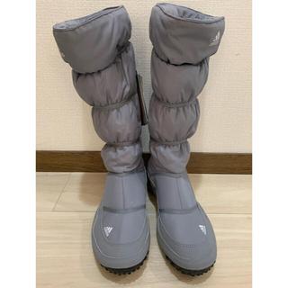 アディダス(adidas)の【値下しました!送料込】【新品未使用】adidas スノーブーツ24.5㎝(ブーツ)