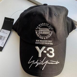 Yohji Yamamoto - Y-3 キャップ 新品未使用 タグ付き 男女兼用