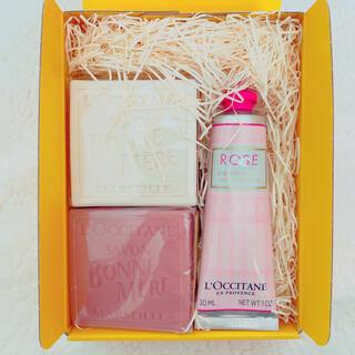 ロクシタン(L'OCCITANE)のロクシタン L'OCCITANE ローズ ハンドクリーム せっけんセット(ハンドクリーム)