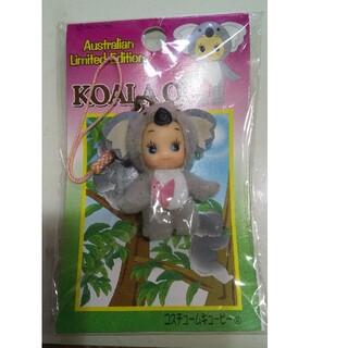 キユーピー(キユーピー)のコアラ キューピー オーストラリア限定 ご当地キューピー ストラップ フィギュア(キャラクターグッズ)