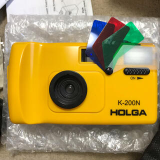 HOLGA ホルガ HOLGA K-200N/FEL [イエロー](フィルムカメラ)