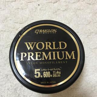 東亜ストリングレグロンワールドプレミアム5号(釣り糸/ライン)