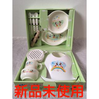 ピジョン(Pigeon)の1 新品 未使用 ピジョン 調理&ベビー食器セット ミッキー(離乳食器セット)