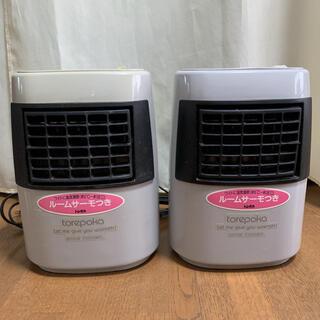 ヒタチ(日立)の日立 ファンヒーター 電気温風機 トレポカ VF-610 安全装置 ルームサーモ(ファンヒーター)