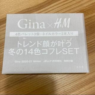 エイチアンドエム(H&M)のJELLY2021年1月付録Gina×H&M      (コフレ/メイクアップセット)