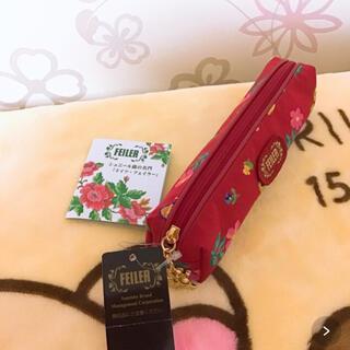 フェイラー(FEILER)の❤️FEILER 赤ペンケース タグ付き未使用❤️(ハンカチ)