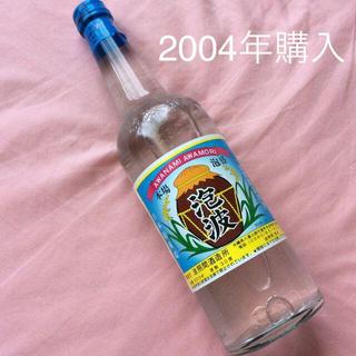 2004年購入  泡波  600ml  30度 波照間酒造所(焼酎)