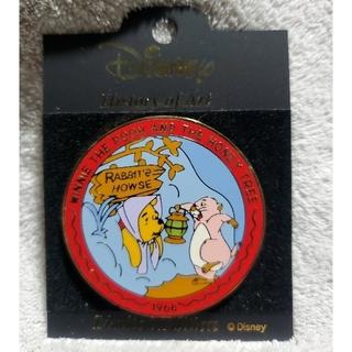 クマノプーサン(くまのプーさん)のディズニーヒストリーオブアート リミテッドピンバッジ96(バッジ/ピンバッジ)