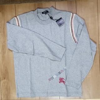 バーバリー(BURBERRY)の【新品】BURBERRY メンズ 長Tシャツ(Tシャツ/カットソー(半袖/袖なし))