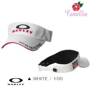 オークリー(Oakley)の新品 OAKLEY オークリー メンズ キャップ 帽子 サンバイザー White(サンバイザー)
