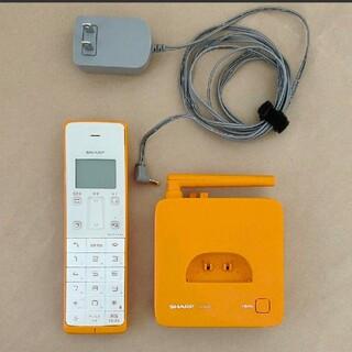 SHARP - シャープ デジタルコードレス電話機