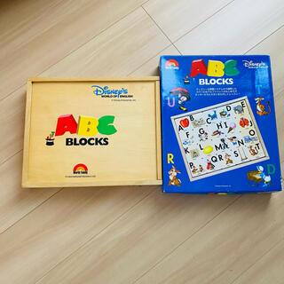 ディズニー(Disney)のDWE ABC BLOCKS 非売品 ディズニー英語 ブロック(知育玩具)