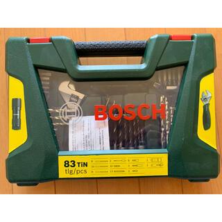 ボッシュ(BOSCH)のBOSCH アクセサリーセット83ホン ドライバーピッド、ドリル(その他)