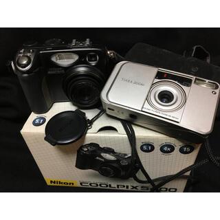 ニコン(Nikon)の《ジャンク》デジカメ NIKON&FUJI セット(コンパクトデジタルカメラ)
