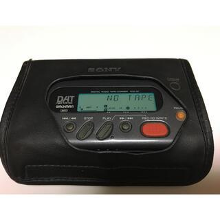 ウォークマン(WALKMAN)の《ジャンク》SONY ウォークマン TCD-D7 ソフトケース付き(ポータブルプレーヤー)